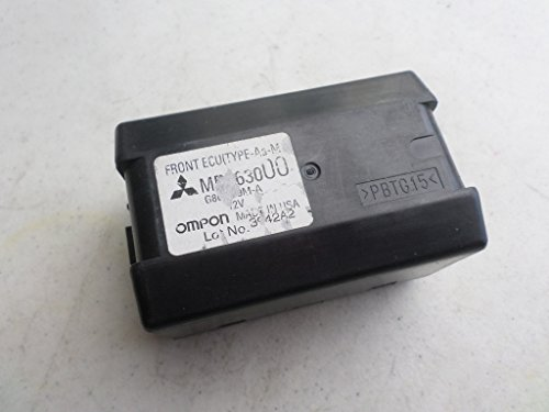 02-03 Mitsubishi Eclipse Galant Front Ecu Relay Unit Computer ( Type-Aa-M ) Mr563000 Omron G8C-209M-A