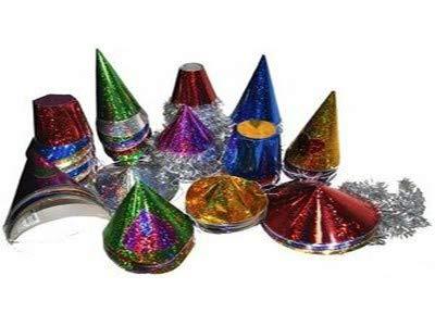 Lotto / Set di 3 pezzi - Lotto 144 mini cappelli scatole metalliche Generico