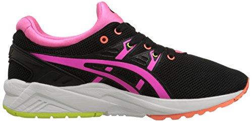 kayano Mesh Trainers Black Pink Evo Gel Asics Womens wEnaqPwI