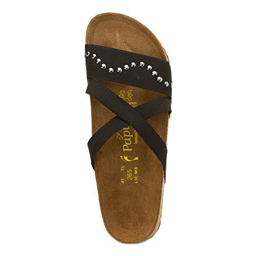 Birkenstock Women s Cosma Wave Black Stretch Sandal 38 (US - Import It All e1ce03c28c2