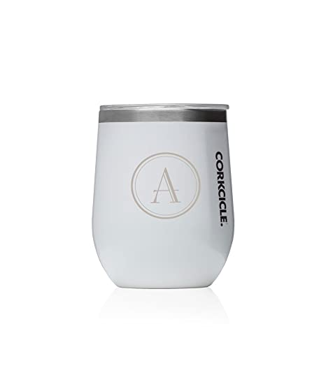 d16f8964ea4 Image Unavailable. Image not available for. Color: Personalized Corkcicle  12oz Stemless Tumbler ...