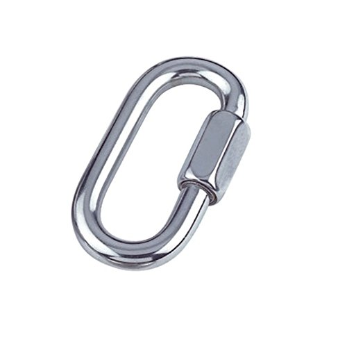 Bulk Hardware BH04988 Quick Link Chain Repair Shackles, M8 (5/16 inch) - A2 316 Marine Grade Stainless Steel