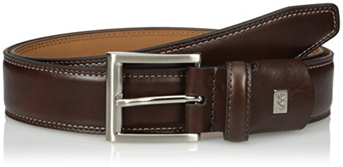 (Lee Men's Tall Stretch Dress Belt, Brown)