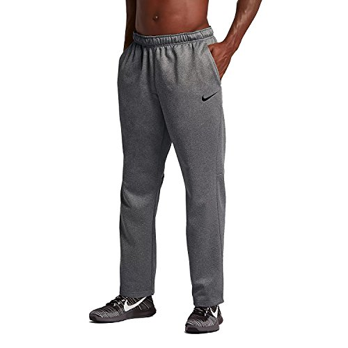 NIKE Mens KO Therma-FIT Training Sweatpants DK Grey/Cool Grey 839098-063 Size Medium ()