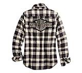 Harley-Davidson Women's Studded Logo Buffalo Check