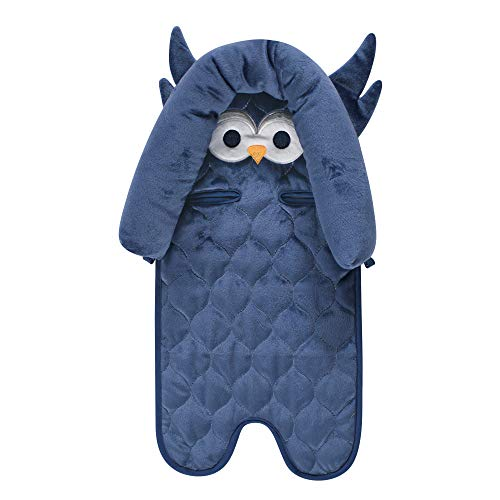 - Hudson Baby Car Seat Insert, Blue Owl, One Size