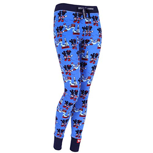 Pantaloni Blu Mouse Minnie Mickey Disney q80tIXSn