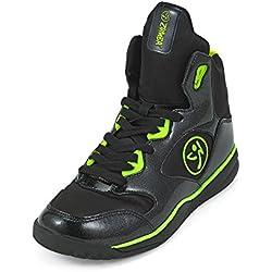 Zumba Fitness LLC Women's Zumba Energy Boom Sneaker, Black, 11 Regular US