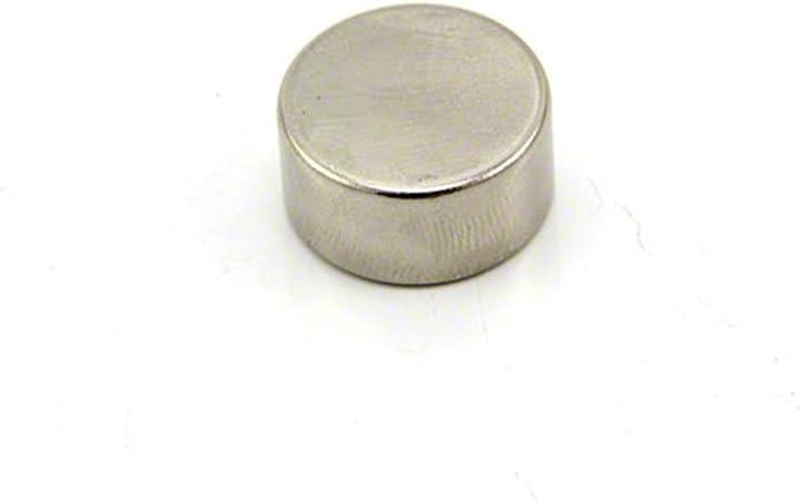 Pack of 10 10mm dia x 5mm High Performance N52 Neodymium Magnet 3.2kg pull