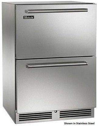 Perlick HP24FO-3-5 24 Built-in Outdoor Freezer ()