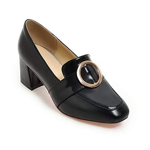 Sandales Femme EU APL10680 Compensées Noir BalaMasa 5 Noir 36 zH4aOq4xwF