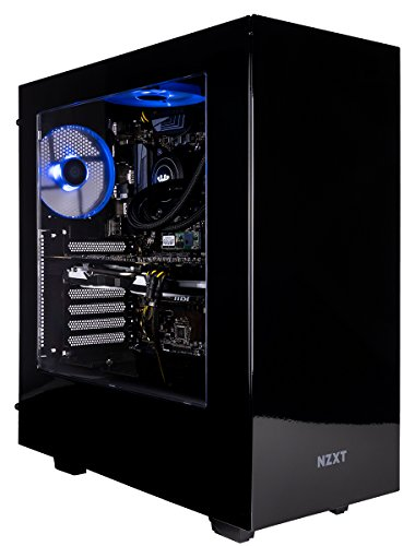 - CUK Sentinel VR Extreme Gaming PC (i7-8700K, 32GB RAM, 500GB NVMe SSD + 2TB, NVIDIA GTX 1080 Ti 11GB, Windows 10) Best New VR Ready Tower Desktop Computer for Gamers (Black/Blue)