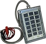 Wgi Innovations/Ba Products SP-6V1 Solar Panel to Recharge Feeder Battery, 6-Volt - Quantity 10