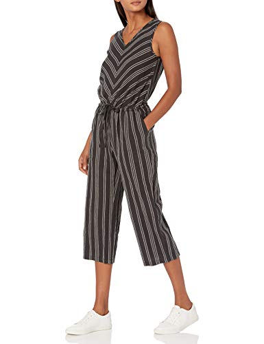 Amazon Essentials Women's Sleeveless Linen Jumpsuit