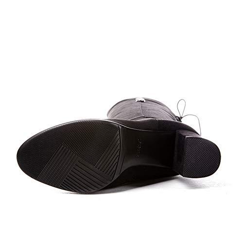 Compensées 36 Abm13517 Sandales Noir Femme 5 Balamasa Noir fB6Hwqx88