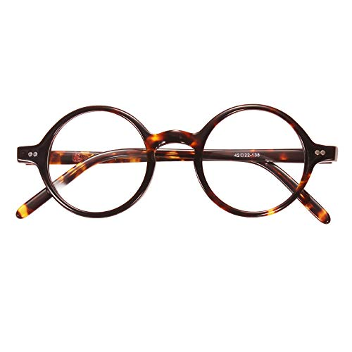 f857ce56a98 Agstum 42mm Handmade Vintage Retro Round Optical Eyeglass - Import It All