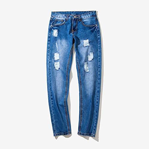 Avec Poche De Décontracté Pantalon Denimants En Hommes Jeans Pour CWrdxBoe