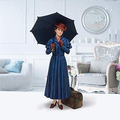 "Enesco Disney Showcase Collection Mary Poppins Returns Figurine 9.85"" Blue"