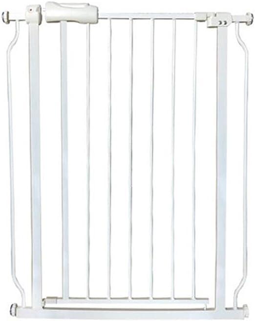 Ancho de la Puerta de Seguridad para niños 75-85.9cm Escalera Puerta de Cerca de Seguridad sin perforación Función de Cierre automático (Blanco) (Tamaño : Cylindrical Installation): Amazon.es: Hogar
