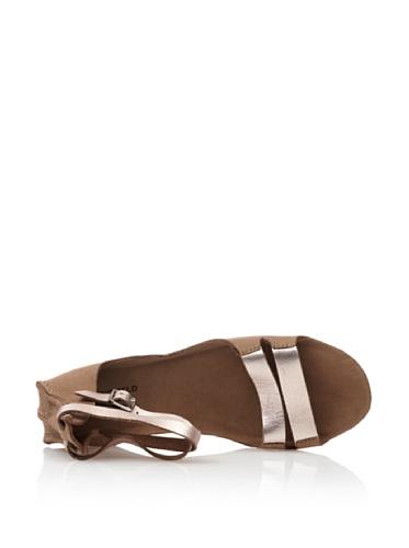 Springfield bretelles brun pour à métalliques Sandale femme FfzURx