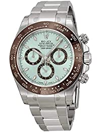 Cosmograph Daytona Ice Blue Dial Platinum Mens Watch 116506IBLSO