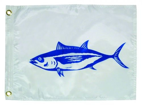 """Taylor Made Products 3118 Tuna Boat Flag (12"""" x 18"""")"""