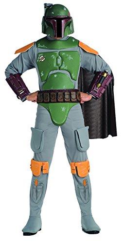 Deluxe Boba Fett Adult Costume - Standard ()