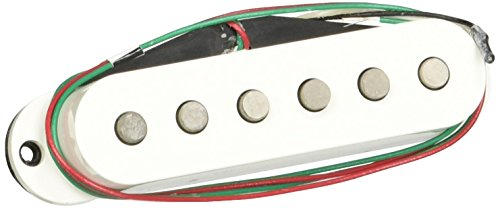 DiMarzio DP420 Virtual Solo Bridge Hum Canceling Strat Pickup White (Hum Canceling Strat Pickup)