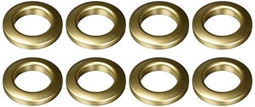 Gold Grommets (Dritz 44459 Curtain Grommets, Antique Gold, 1-Inch,)