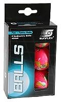 Sunflex 20603 Tischtennisbälle 40mm 6 Stück bunt Sport und Freizeitt Tischtennis