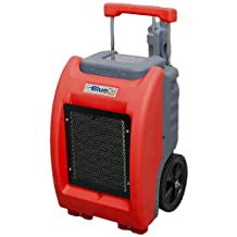 BlueDri BD100LGR Commercial LGR Dehumidifier 200-Pint Per Day Water Extraction, Red