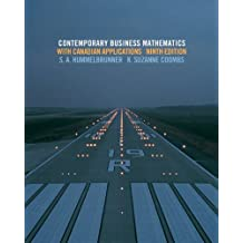 Student Solutions Manual for Contemporary Business Mathematics with Canadian Applications