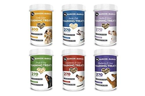 Barker and Barker Low Fat Dog Training Treats Multi Treats Selection 1