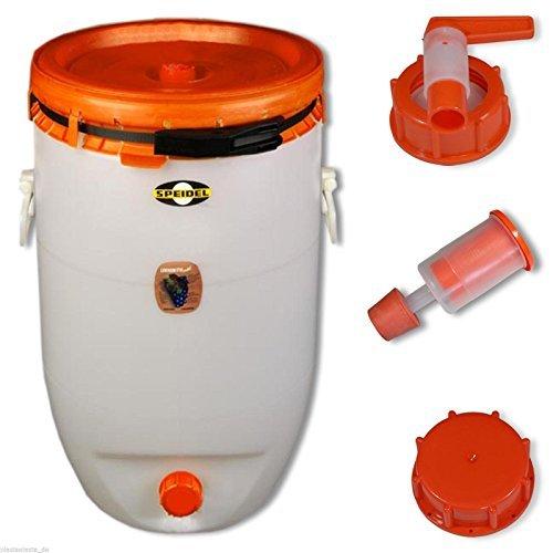 Barrel for fermentation SPEIDEL - Fermenter 120 L round + 1 airlock + 1 tap + 1 cap (22150+137+139+140) by Speidel by Speidel (Image #2)