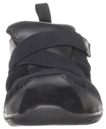 Dansklasse Dames Js300 Slip-on Jazz Sneaker Zwart