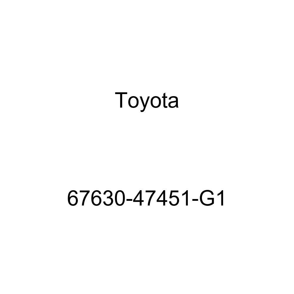 Genuine Toyota 67630-47451-G1 Door Trim Board