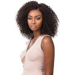 Sensationnel Bare&Natural 100% Brazilian Virgin Remi Unprocessed Human Hair Swiss 4X4 Lace Wig - BOHEMIAN (NB)