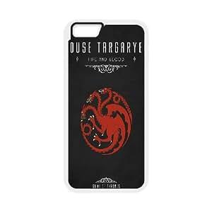 iPhone 6 4.7 Inch Cell Phone Case White Game Of Thrones House Targaryen ISU517260