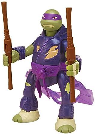 Tortugas Ninja - Figura Battle and Throw Raph, 15 cm (Giochi Preziosi 91620)