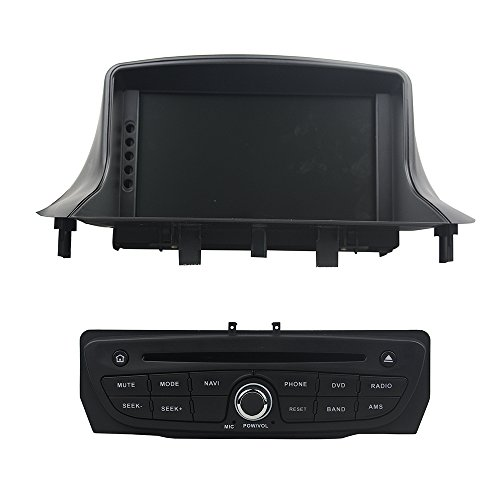 KUNFINE Android 8.0 Otca Core 4GB RAM Car DVD GPS Navigation Multimedia Player Car Stereo For Renault Megane III Fluence 2009 2010 2011 2012 2013 2014 2015 2016Steering Wheel Control 3G Wifi Bluetooth