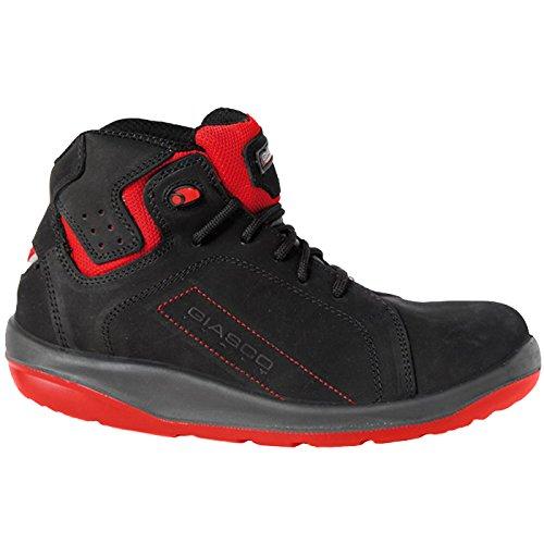 Giasco Schnürstiefel Gym S3 Größe 44 1 Stück schwarz schwarz schwarz   rot 73N37C44 3e67e7