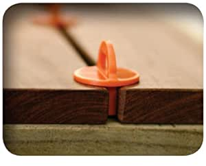 """Deckwise 1/4"""" Deck Boards Spacers - 6 pieces - for Pressure Treated, Composite, PVC and Hardwood Decking by DeckWise"""
