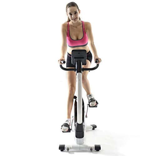 Fitleader UF1 Upright Bike Exercise Indoor Cardio Bike Magnetic Resistance Stationary Cycling