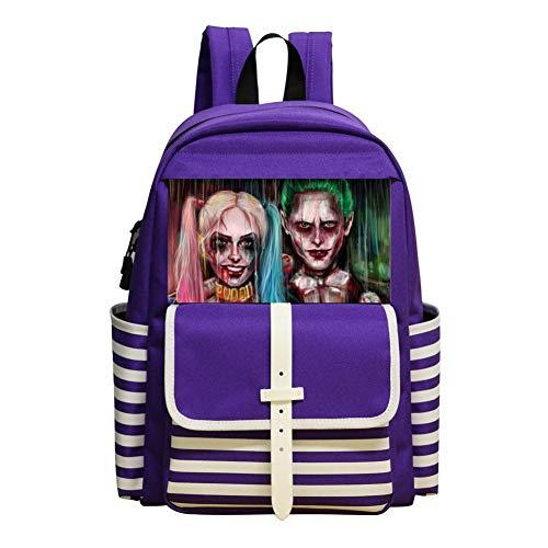 Kids/Youth School Backpacks Har-lEY Qu-iEn Casual Daypack School Bags Bookbag For Boys Girls