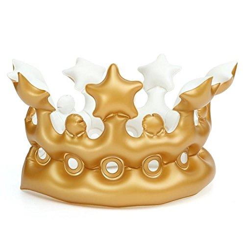 Corona hinchable para el rey de la fiesta, o del cumpleaños ...