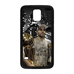 san antonio spurs Tony Parker Phone Case for Samsung Galaxy S5 Case by runtopwell