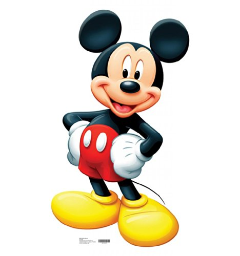 Mickey Mouse - Advanced Graphics Life Size Cardboard Standup