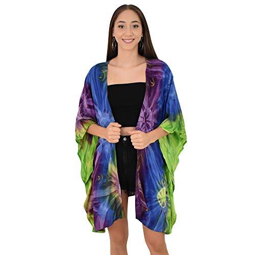 - ISLAND STYLE CLOTHING Kimono Tie-Dye (Mystic)