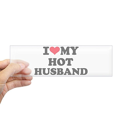i love my husband bumper sticker - 7
