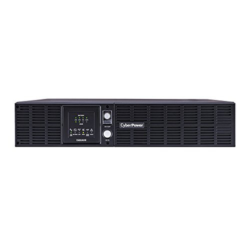 CyberPower CPS1500AVR Smart App LCD UPS System, 1500VA/900W, 8 Outlets, AVR, 2U Rack/Tower by CyberPower